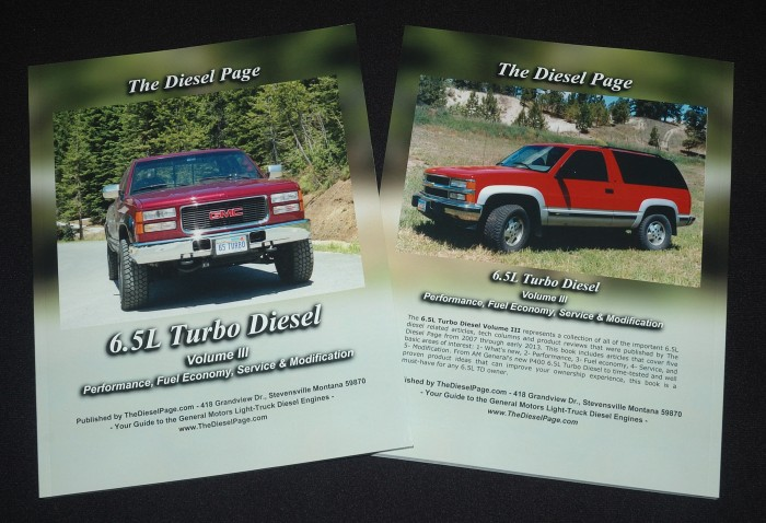The Diesel Page, 6.5L Turbo Diesel Volume III