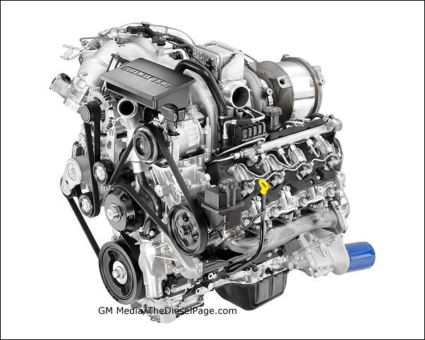 TheDieselPage.com - GM's 2017 6.6L L5P Duramax V-8 Turbo ...