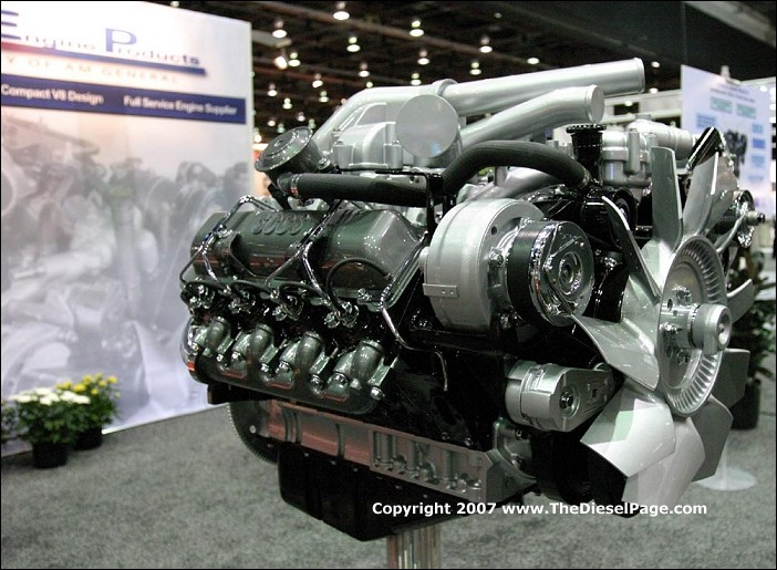 Thedieselpage Introducing Am General's New 65l Turbodiesel