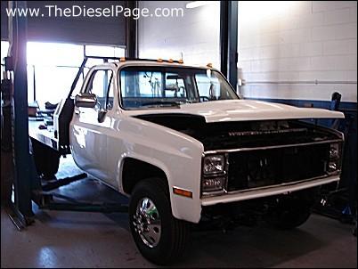 Thedieselpage Com Duramax Diesel Conversion 1987 Chevy 30