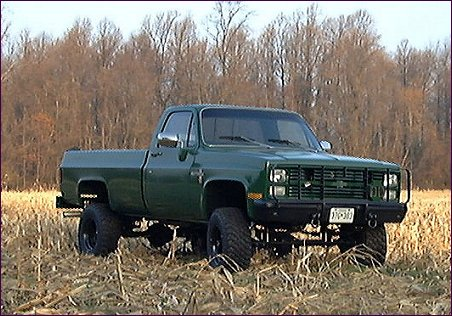 Military Trucks on 1985 Chevy K 30 Military Cucv 1 1 4 T 4x4