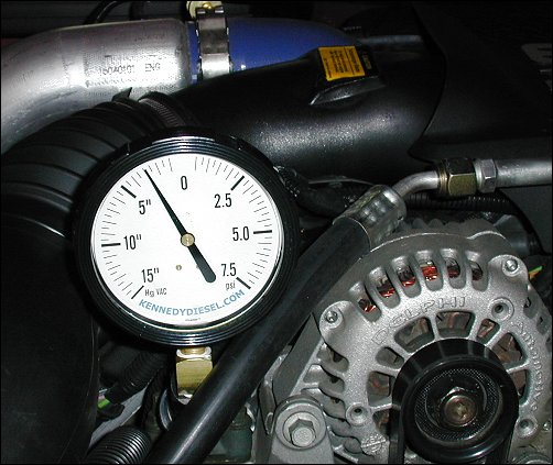 TheDieselPage com - Kennedy Diesel Fuel Pressure Gauge - Product Review